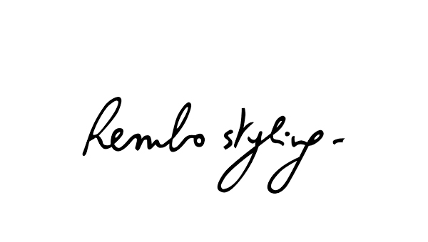 - Rembo Styling offers innovative, bohemian dresses with floaty silhouettes, unique designs and a mix of beautiful textures.Available in London only...
