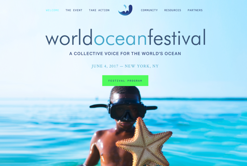 The World Ocean Festival in support of the SDG 14 - A Global Brain Foundation Iinitiative