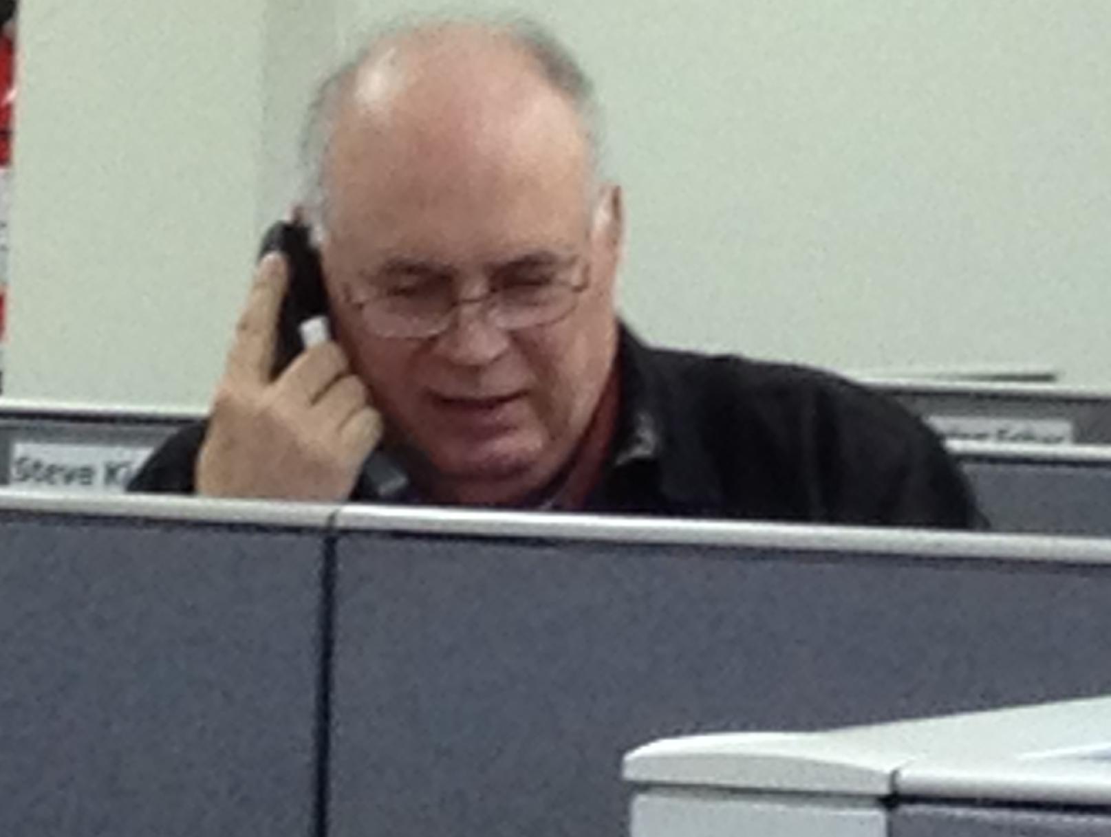 Steve on phone 1