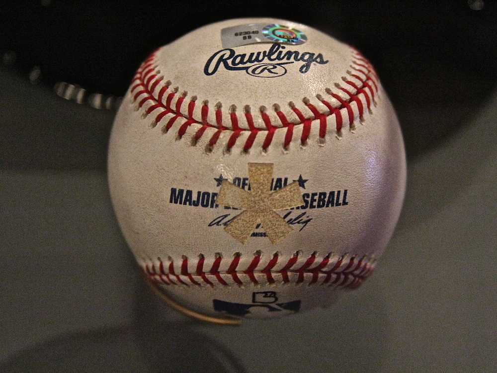 Barry Bonds 756th home run ball