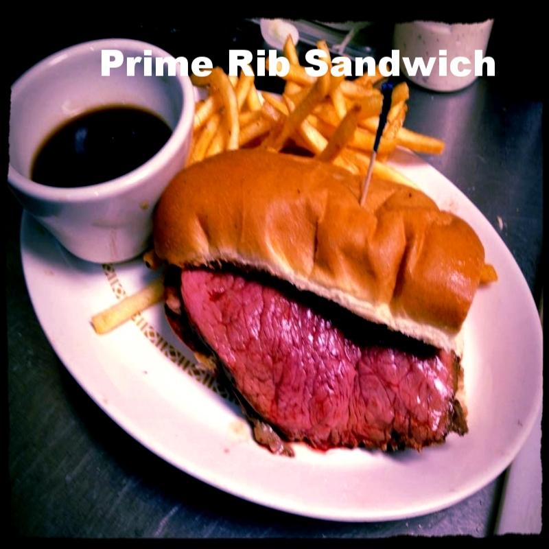 Prime Rib with Au Jus