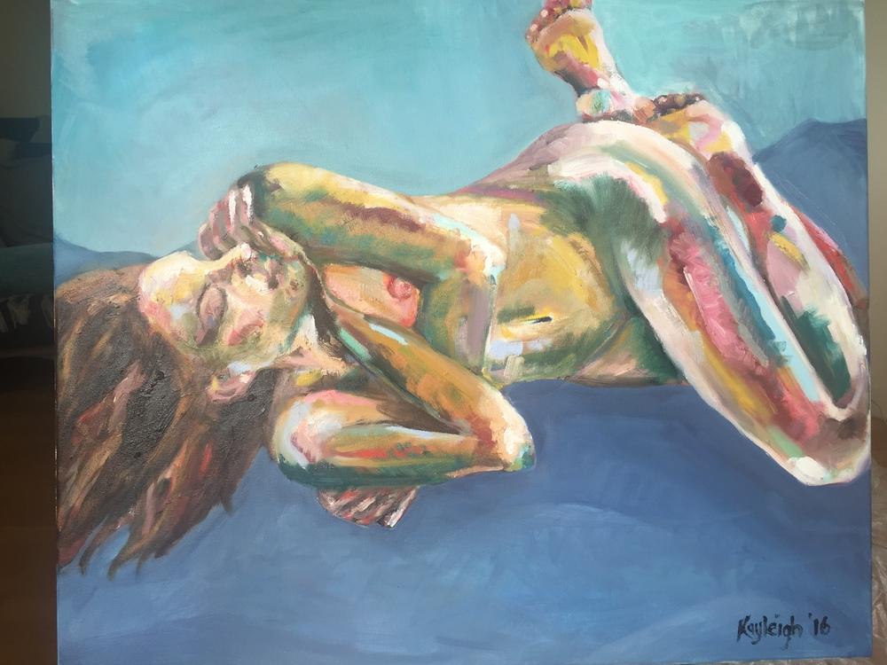 Oil on Canvas, 2016