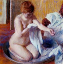 Degas, Woman in a Tub,c.1883