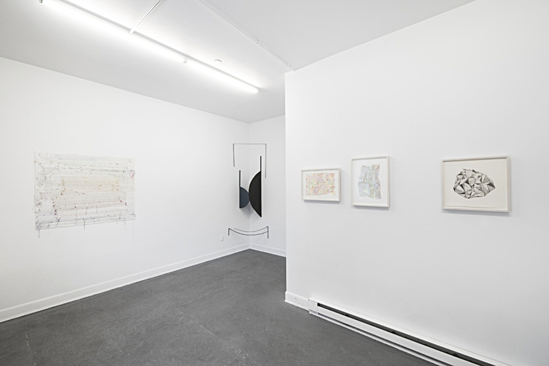 Alter (Installation shot) Process+-Pattern at SARDINE Gallery, Brooklyn, NY