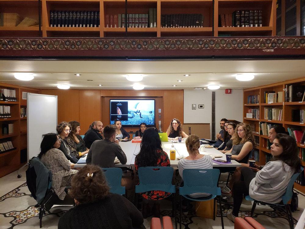 ABC of Revolution, workshop, Hagop Kevorkian Centre, New York University, Fall 2018, New York, USA