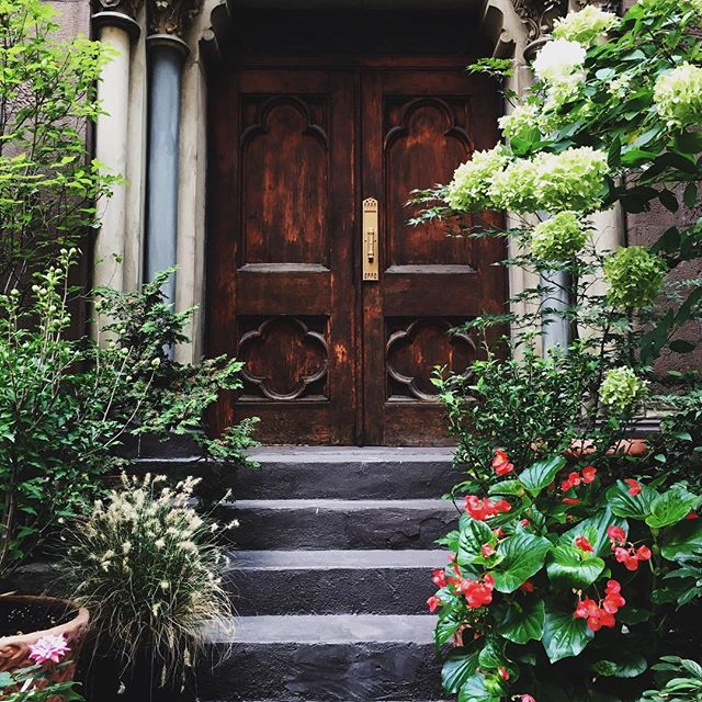 The prettiest door in the 'hood.