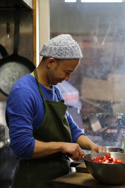 Tatsuya Zama, a a conscientious chef