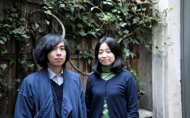 Kamide Keigo and his wife