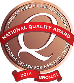 13e85789b453 Heritage Springs has been recognized as a 2016 recipient of the Bronze –  Commitment to Quality Award for its dedication to improving the lives of  residents ...