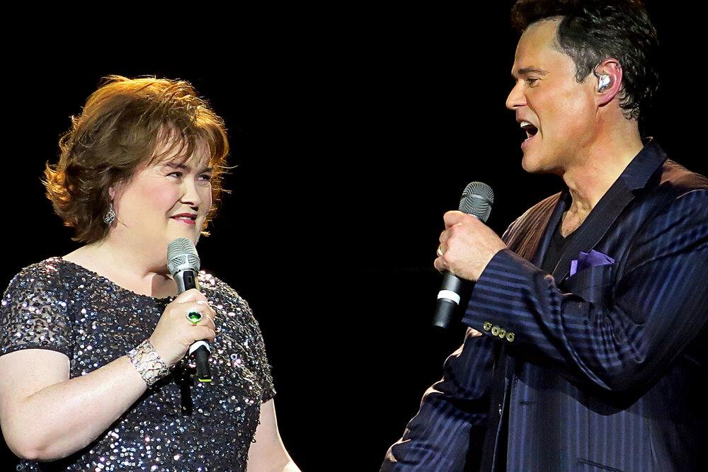 Donny & Susan Boyle