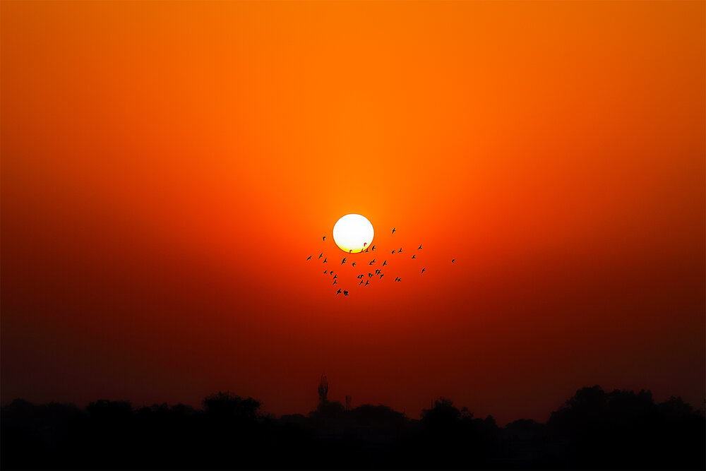 Agra Sunset