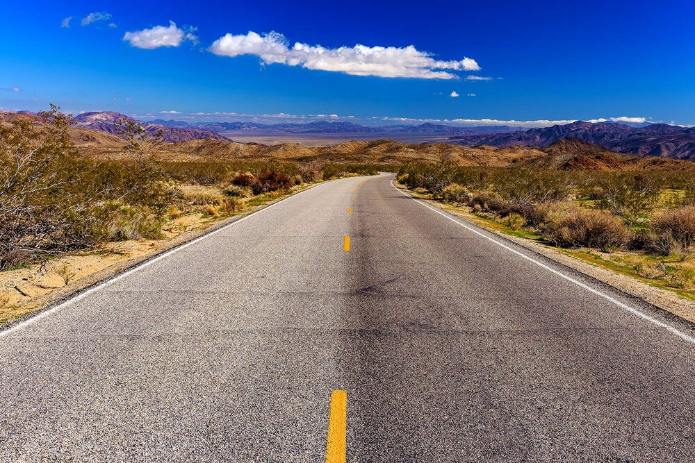 Road to Joshua Tree