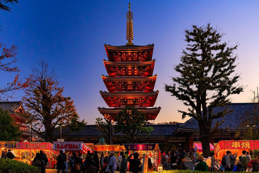 Pagoda at Sensō-ji