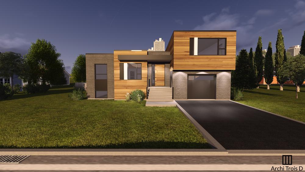 faade 02jpg - Facade Maison Style Moderne