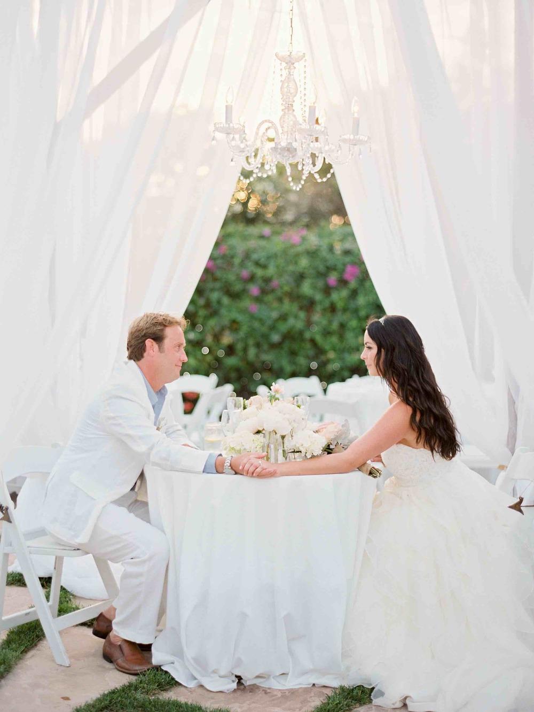 Santa Barbara wedding - bride and groom