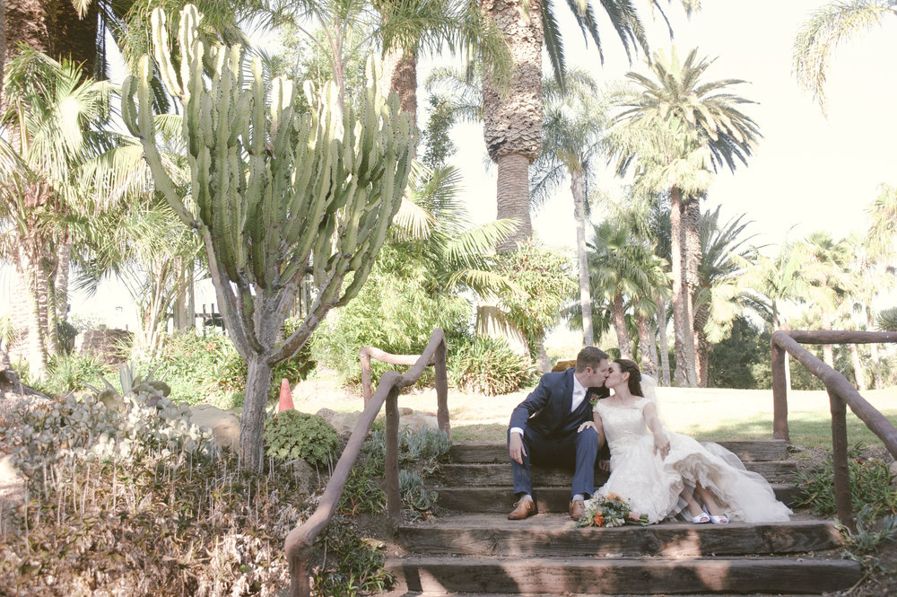BRIANNE AND BRIAN'S WEDDING AT THE SANTA BARBARA ZOO - byCHERRY PHOTOGRAPHY