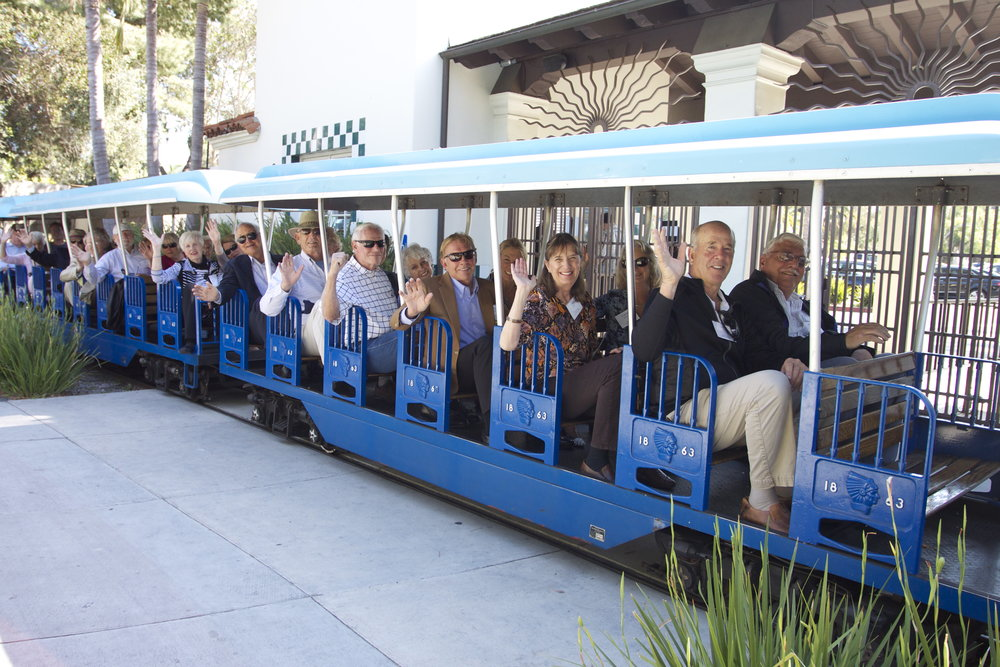 Corporate Event - Rent the Train for your guest to take a full Zoo tour!
