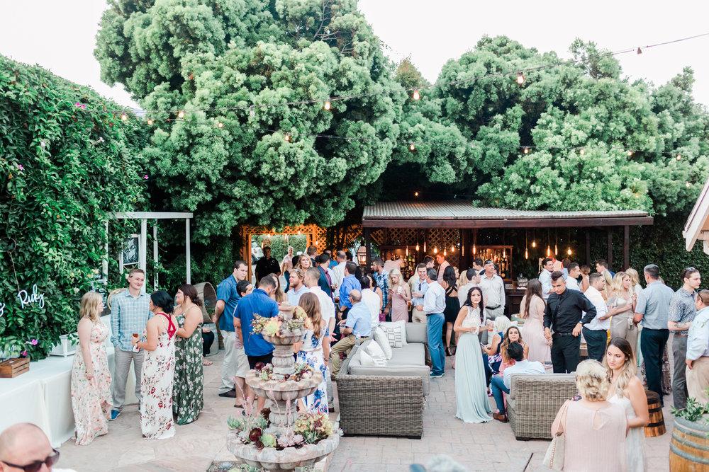 Rincon beach club patio cocktail hour