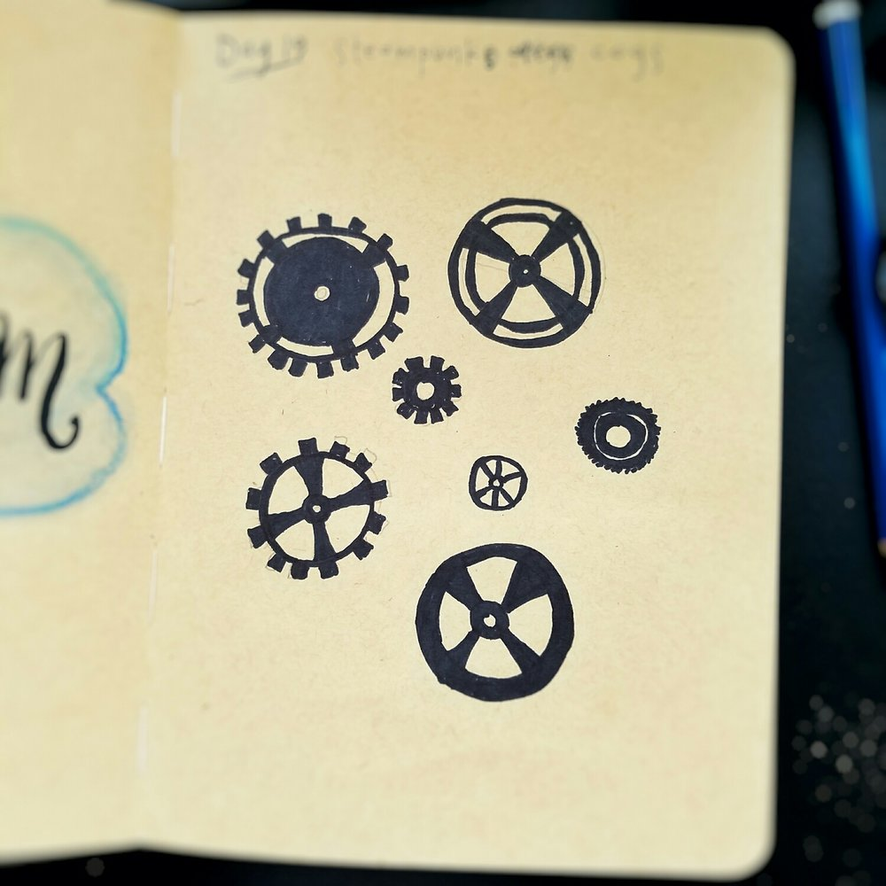 Day 19: Steampunk cogs
