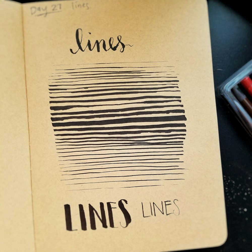 Day 27: lines