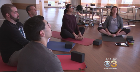TYP is helping people rebuild their lives from the ground up with Yoga for Recovery at the First Steps Treatment Center in Chester, PA. Watch the CBS News report.
