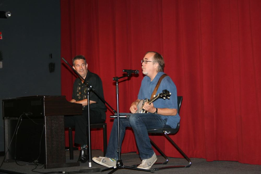 Tony Trischka - Jacob Burns Film Center - July, 2012