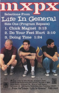 Selections From Life In General Promo Cassette