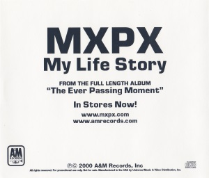 My Life Story US Promo Single