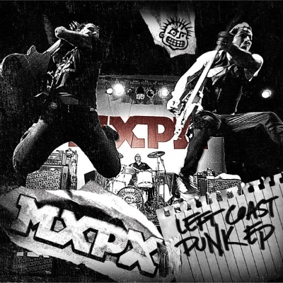 Left Coast Punk EP Vinyl Cover