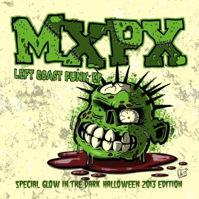 Left Coast Punk EP Halloween Interpunk Exclusive Vinyl Cover