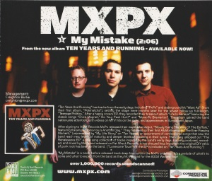 My Mistake US Promo Single