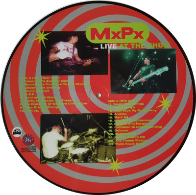 At The Show Vinyl Picture Disc - Side B