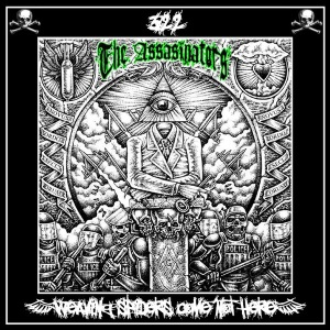 "The Assasinators - Weaving Spiders Come Not Here (2010) Tracks: ""Econarchy"" & ""Weaving Spiders"""