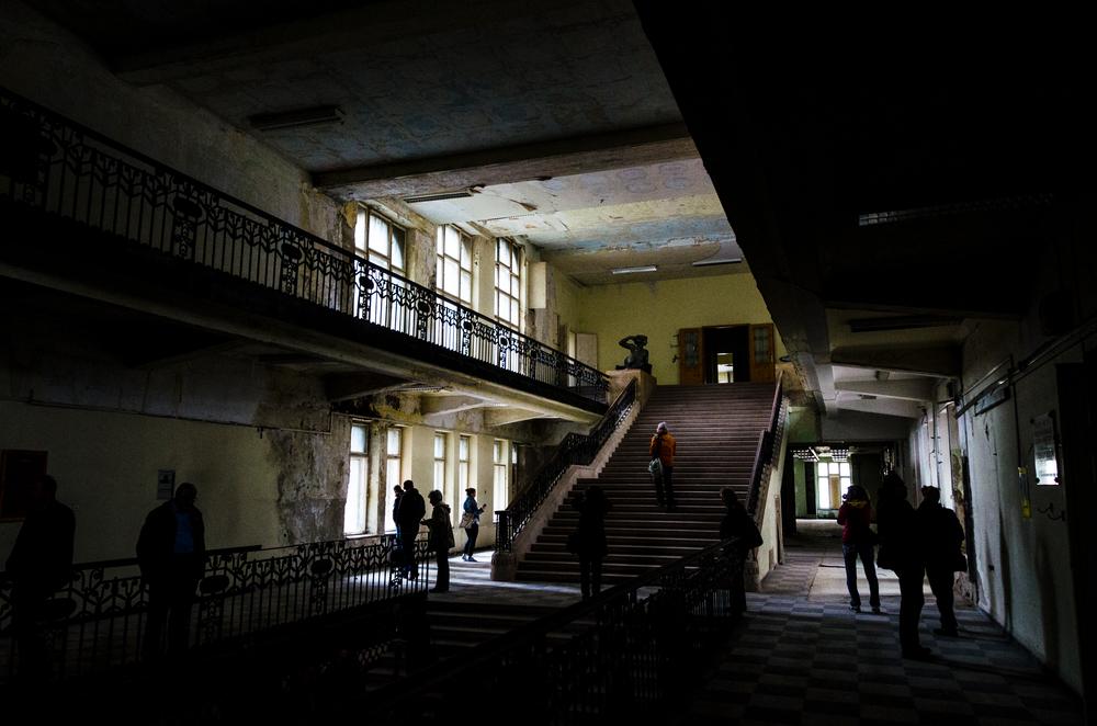 A főlépcsőház
