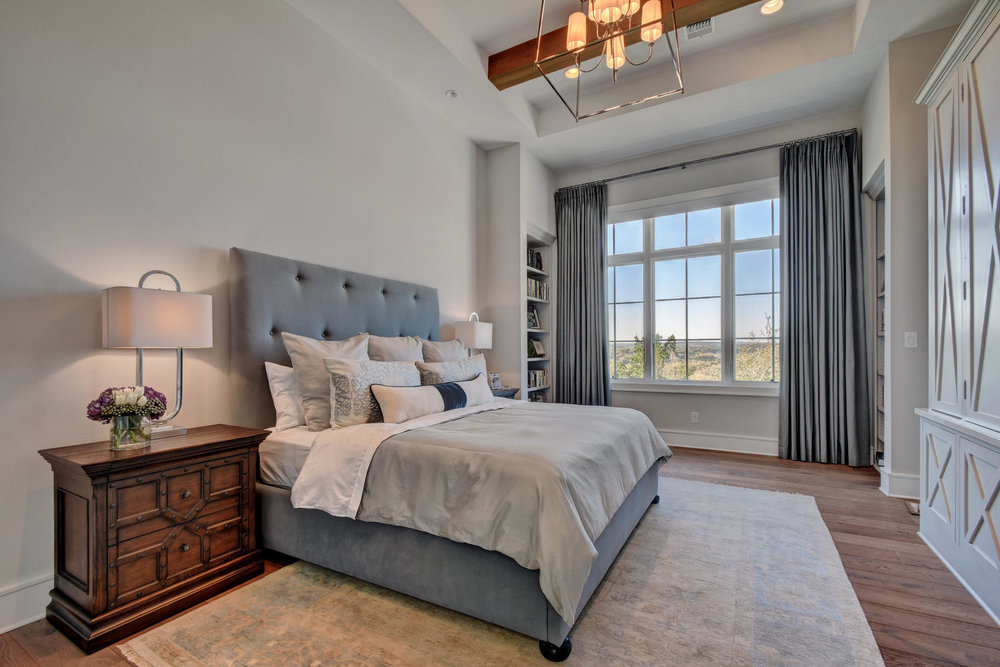 Spanish Oaks Master Bedroom