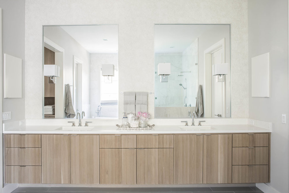 Lake Austin Master Bathroom