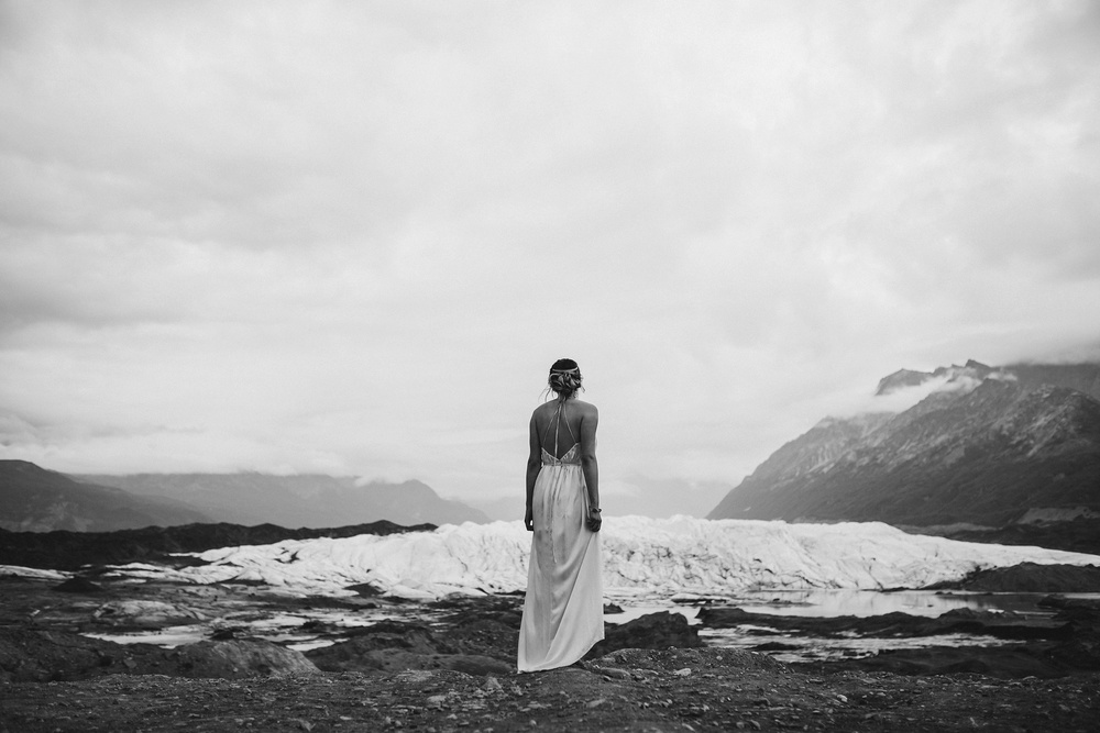 glacier bride photograph