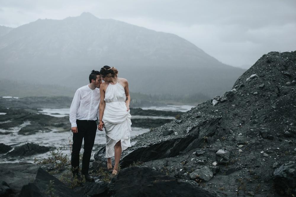 elope on a glacier
