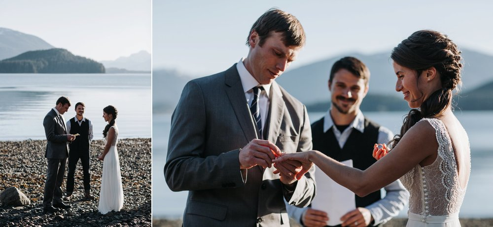elopement in Juneau Alaska
