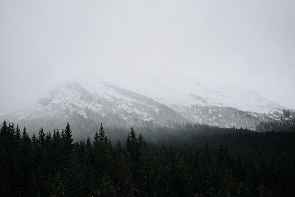mountains in juneau alaska