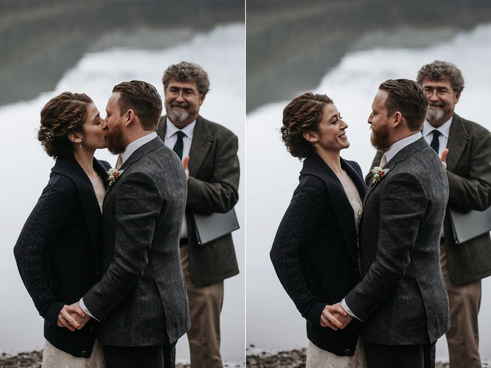 intimate wedding in juneau alaska