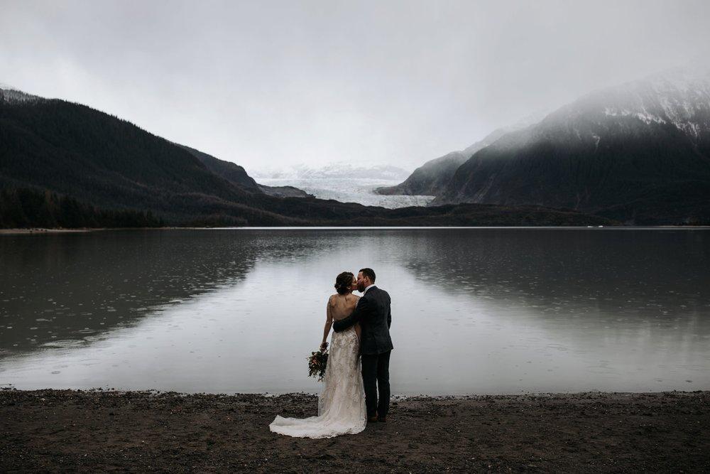 glacier elopement in juneau alaska