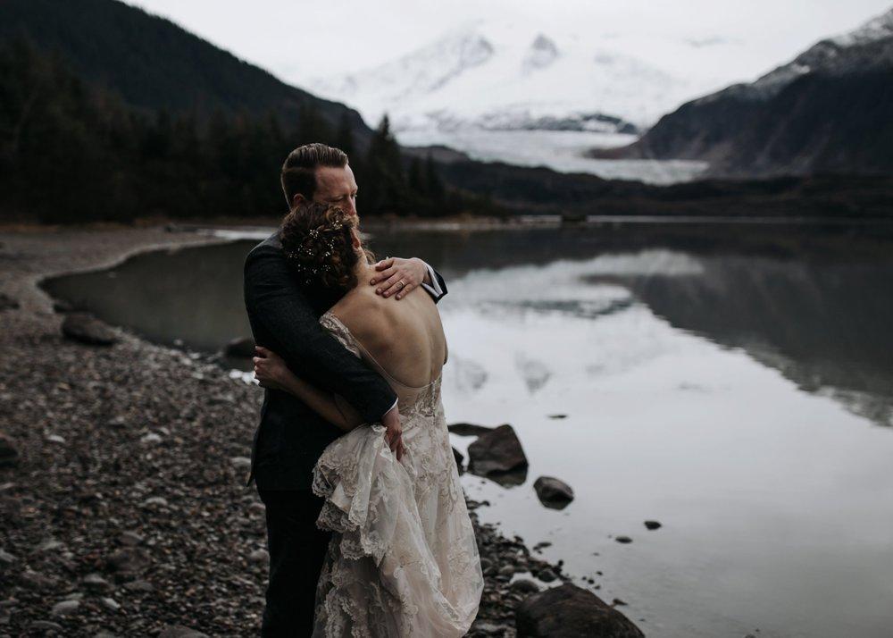 glacier elopement in juneau