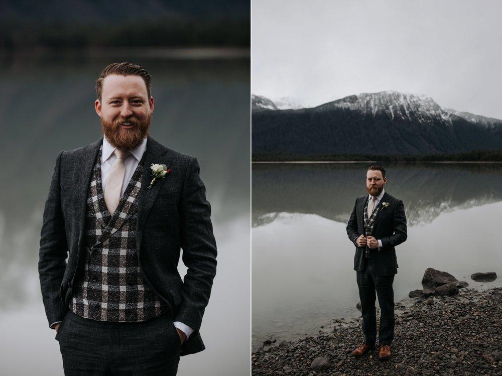 alaska groom style