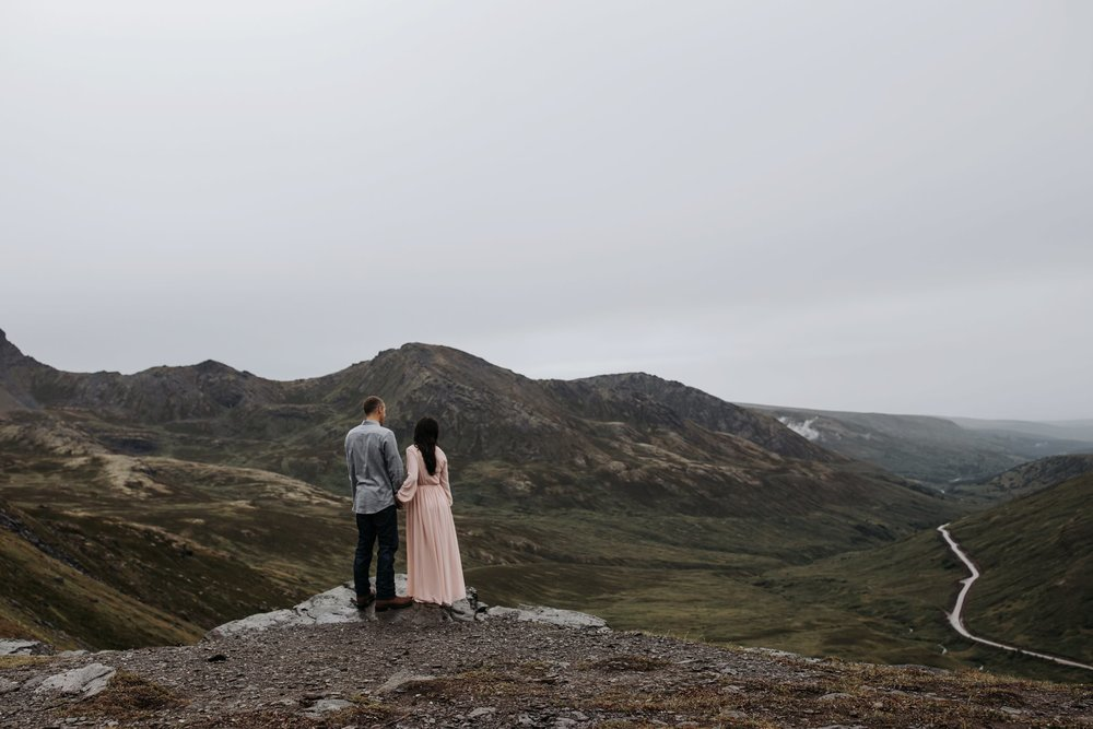alaskan engagement in the mountains