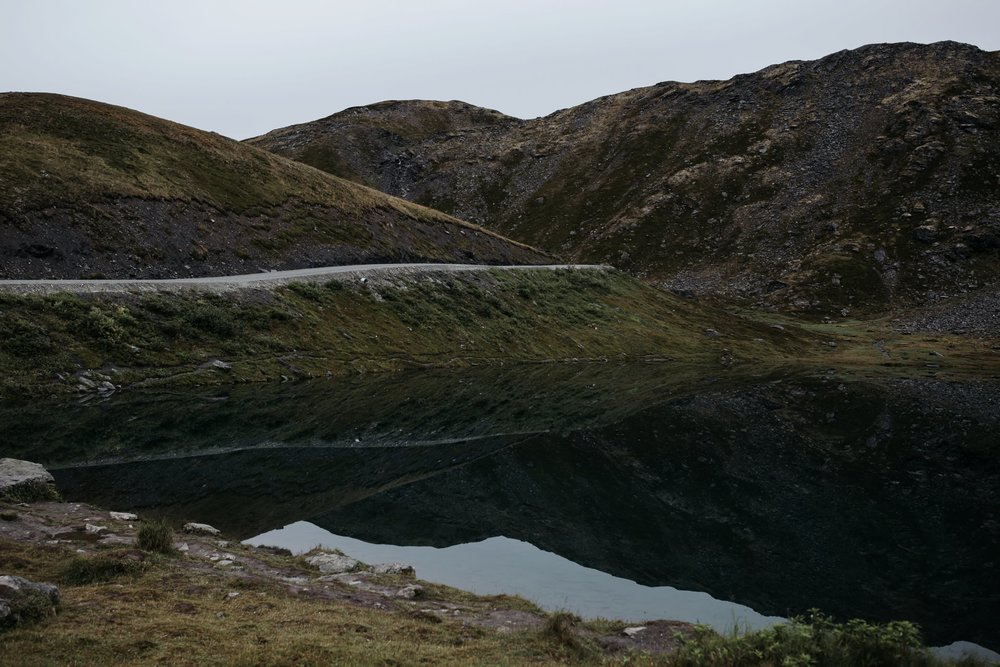 summit lake in hatcher pass Alaska