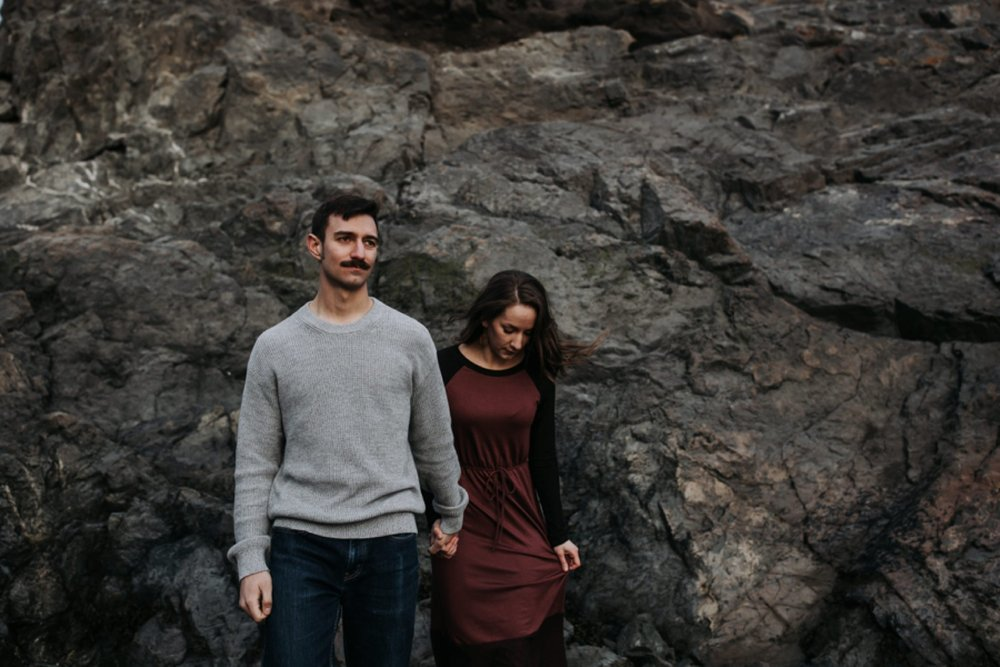 beluga point engagement photos