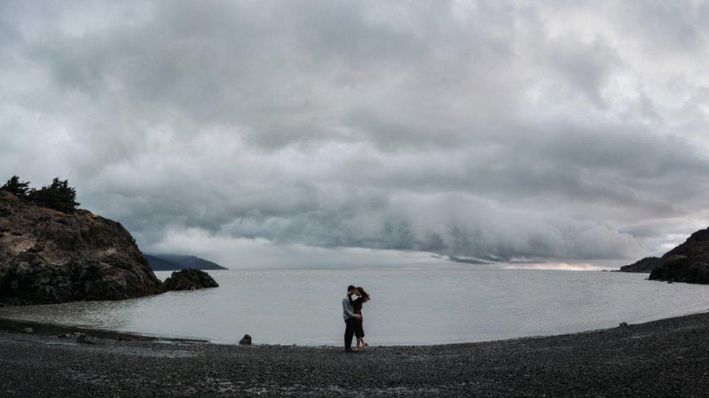 moody sky panorama