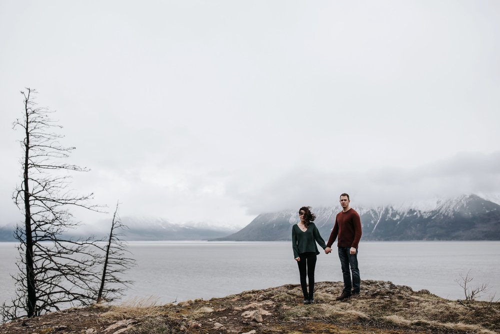 couple on turnagain arm alaska
