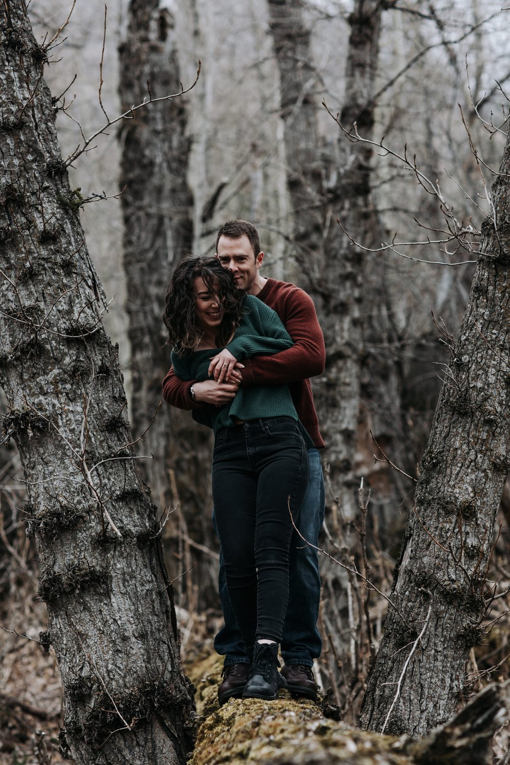 adventurous engagement session